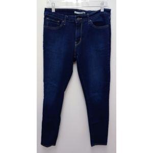 Levi's 711 Skinny dark wash Jeans Size 30